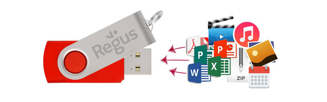 Flash Drive Před-nahrání dat