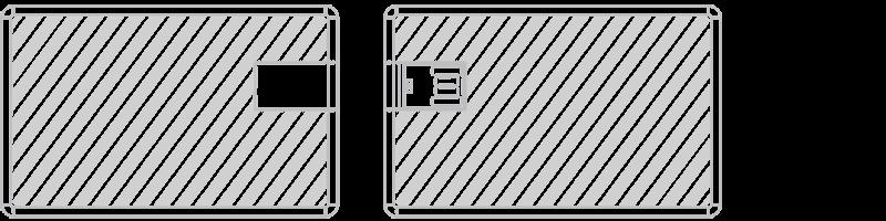 USB karta Laserové gravírování
