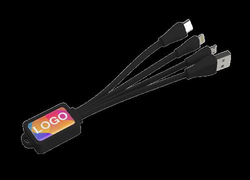 Multi - Brandovaná sada USB kabel chobotnice