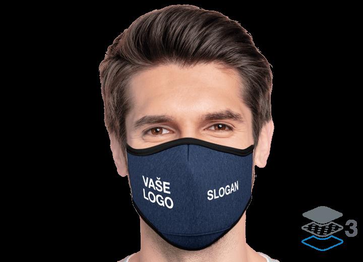 Denim - Zakázkové obličejové masky