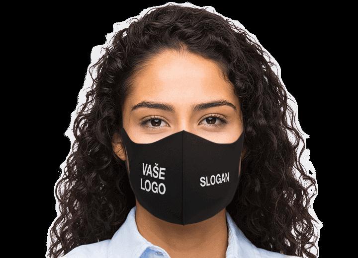 Neo - Zakázkové opakovaně použitelné obličejové masky