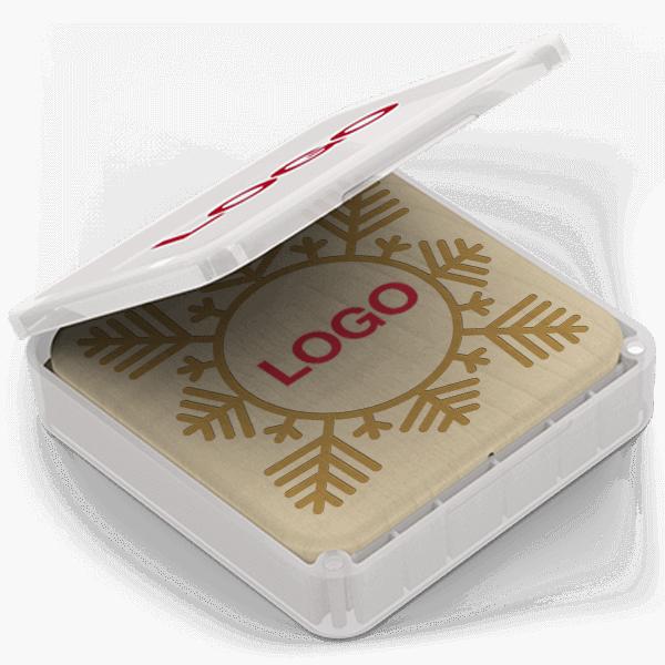 Forest Christmas - Personalizovaná bezdrátová nabíječka