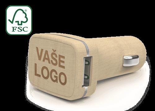 Woodie - Vlastní USB nabíječky do auta