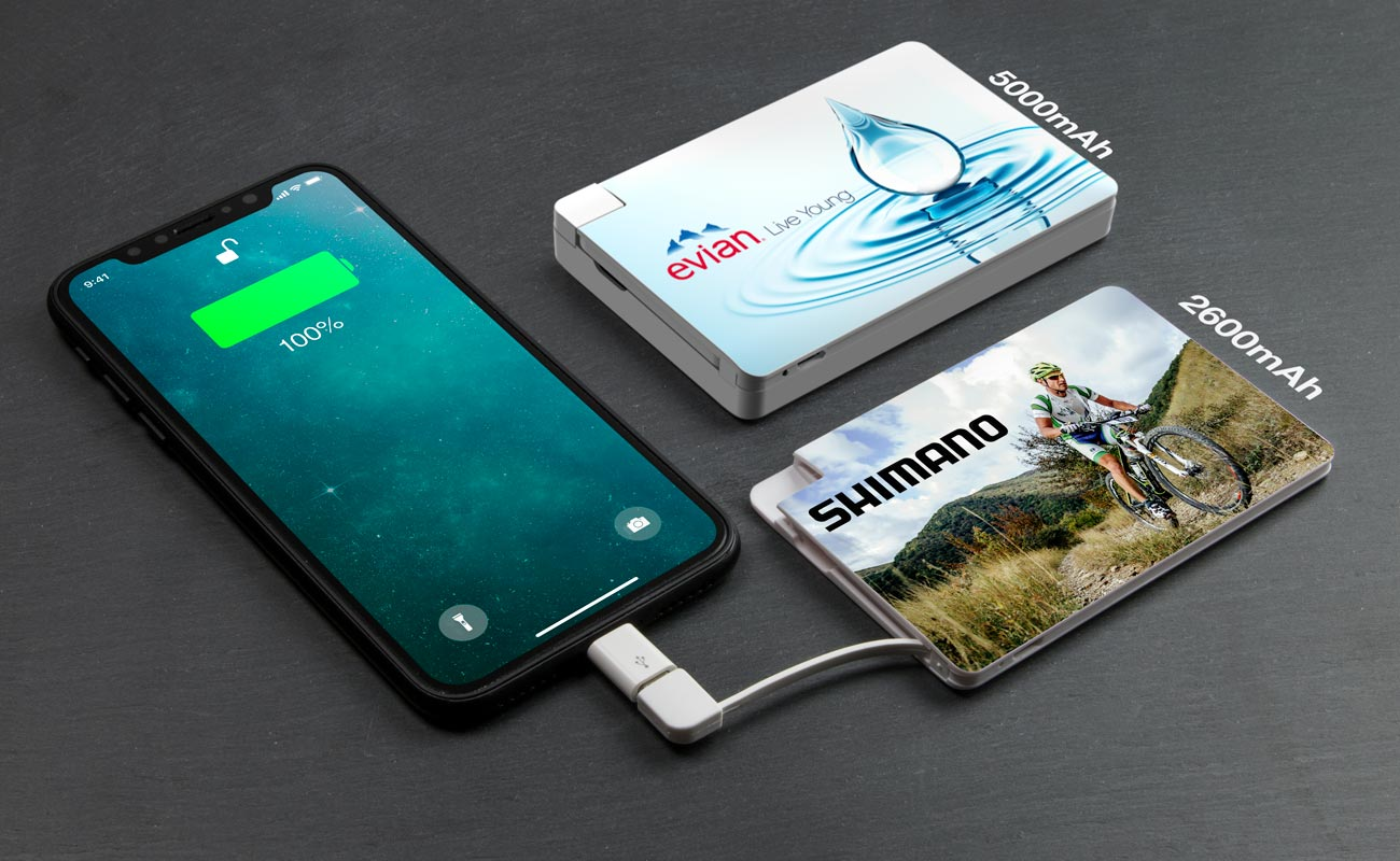 Card - Reklamní Powerbanky