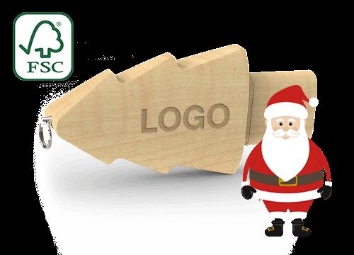 Christmas - Reklamní USB Flash Disk