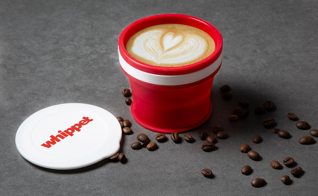 Compresso - Propagační cestovní hrnečky