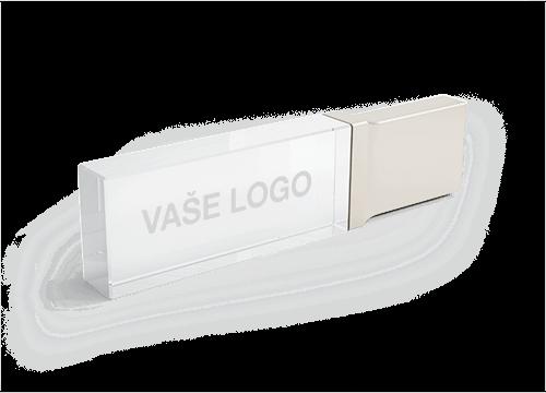 Crystal - Skleněný USB stick