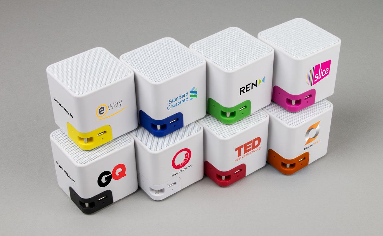 Cube - Dřevěné Reproduktory