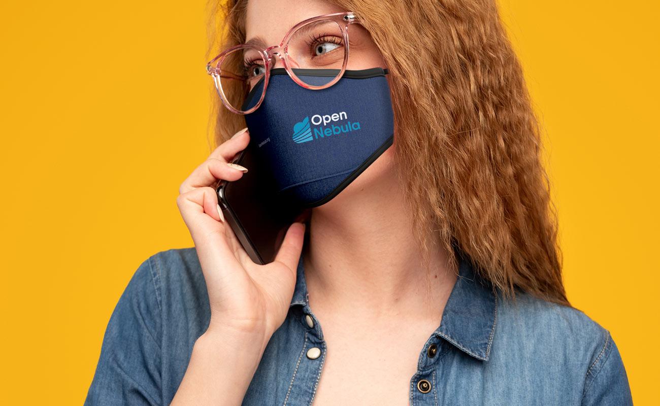 Denim - Značkové obličejové masky