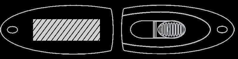 USB flash disk Laserové gravírování