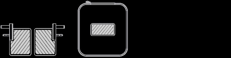 Cestovní USB nabíječka Sítotisk