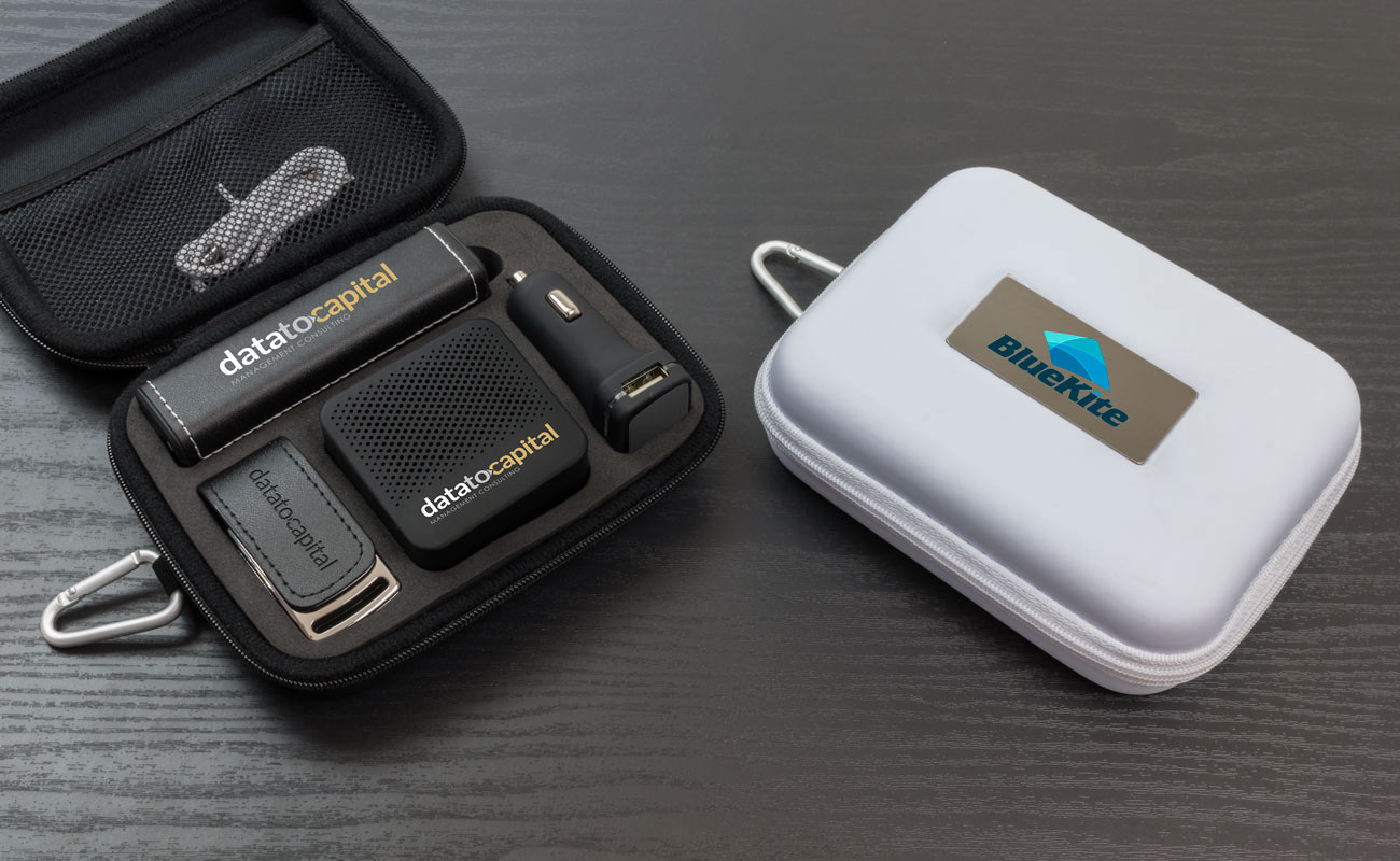 Leather L - Reklamní Flash Disk, Custom Portable Charger, Custom Car Charger and Custom Speakers