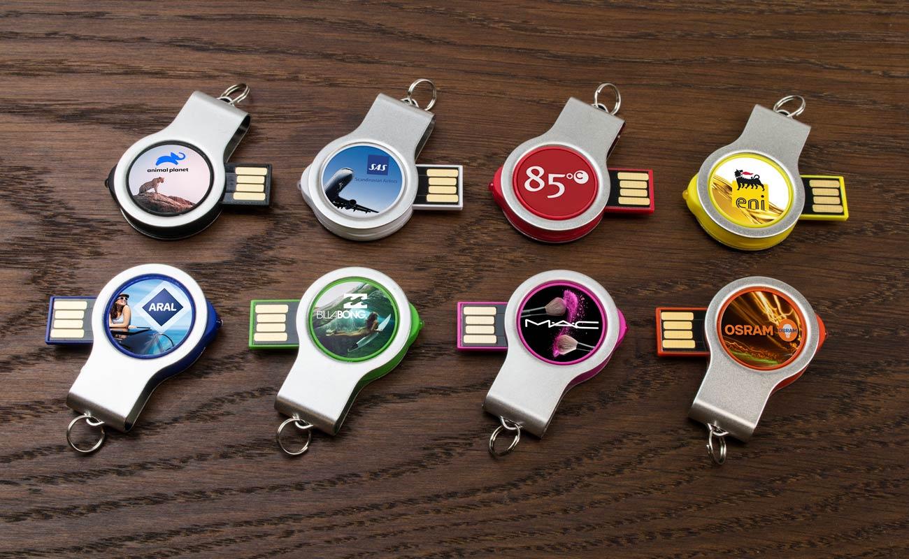 Light - Vlastní USB disky s LED světlem