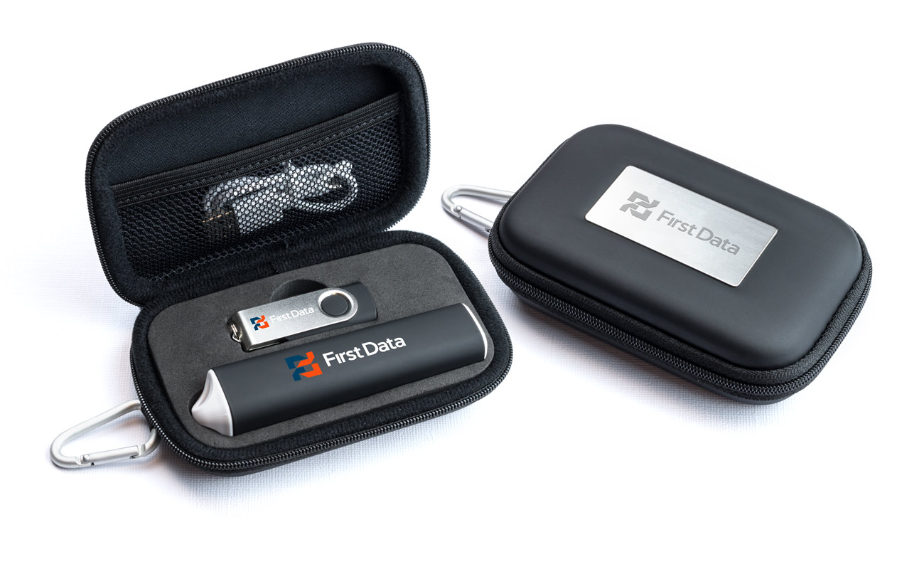 Pure S - Reklamní Flash Disk and Custom Portable Charger