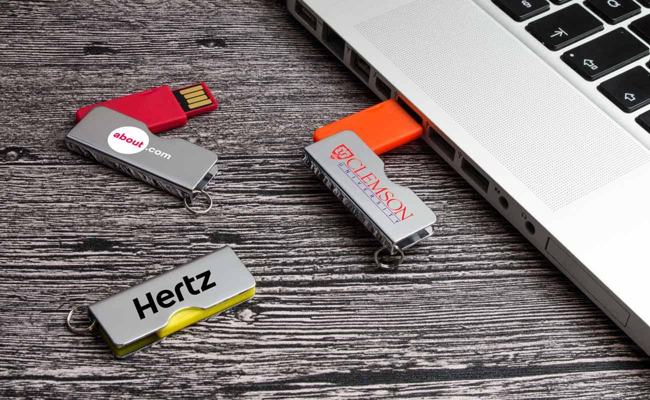 Rotator - Reklamní Flash Disk