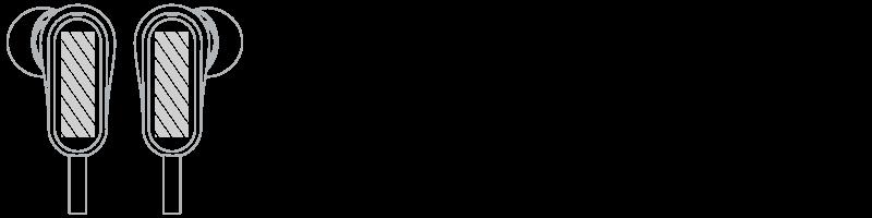 Sluchátka Sítotisk