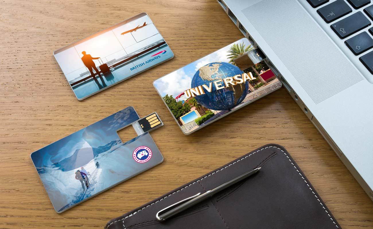 Wafer - Karty Kredytowe USB