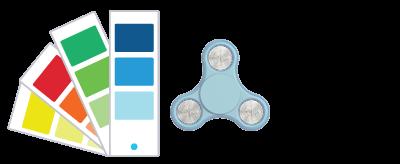 Hodnoty Pantone Fidget Spinner